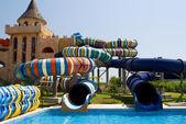 Aqua park in Nesebar, Bulgaria — Stock Photo