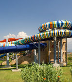 Water park in the open air — Stok fotoğraf