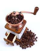 Ancient coffee grinder — Stock Photo