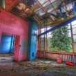 Tiled room — Stock Photo