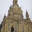Stock Photo: Frauenkirche with Luther