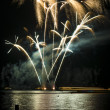 Wannsee in Flammen - Stock Photo