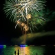 Wannsee in Flammen — Stock Photo