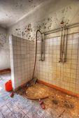 Eski duş — Stok fotoğraf