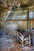 övergivna rummet — Stockfoto