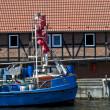 Harbor of Wismar — Stock Photo