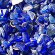 Blue glass — Stock Photo