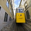Tram in Lisbon — Stock Photo