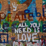 Lennon wall — Stock Photo #3094534