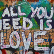 Lennon wall — Stock Photo #3094575