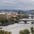 Bridges of Prague — 图库照片