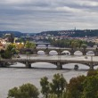 Stock Photo: Bridges of Prague