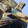Statue at the Charles bridge — Stock Photo