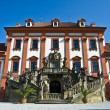 Stock Photo: Palace Troja