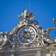 Some of the statues of the apostel on the roof of San Pietro — Stock Photo #3097948