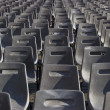 Grey chairs — Stock Photo
