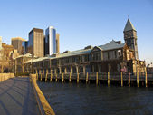 Battery park city — Stockfoto