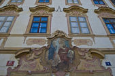 Old palaces in Prague — Stockfoto