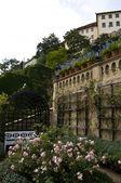 Castle garden — Stock Photo