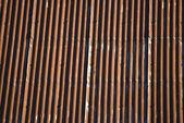 гофрированного оцинкованного железа — Стоковое фото