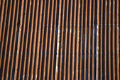 Corrugated galvanised iron — Stock Photo