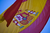 Spanish flag — Stockfoto