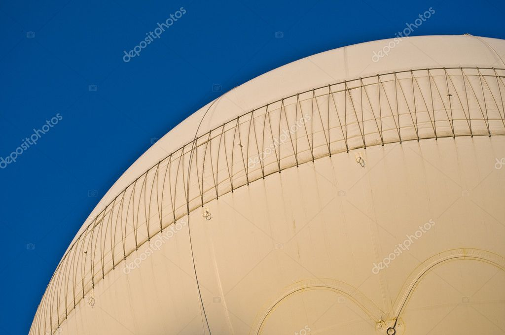 Having a fun time on a sunny day flying with an hot air balloon  Foto Stock #3095321