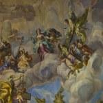 Biblical fresco — Stock Photo