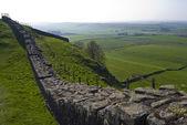 Hadrian's wall — 图库照片