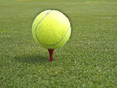 Tennis ball golf — Stock Photo