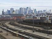 Ligne d'horizon de New York — Photo