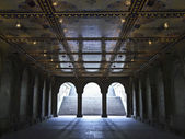 Bethesda terrace — Stock Photo