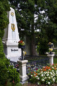Beethoven's grave — Stock Photo