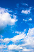 Beautiful blue sky and clouds — Stock Photo