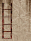 Grungy film strip — Stock Photo