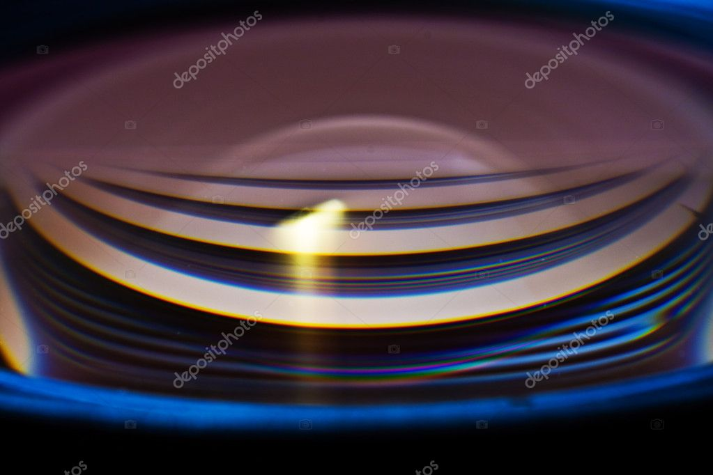 Closeup of a camera lens — Stock Photo #3099739