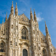 Milan cathedral dome — Stockfoto #3107013