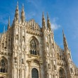 图库照片: Milan cathedral dome