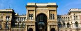 Vittorio Emanuele II Gallery in Milan — Stock Photo
