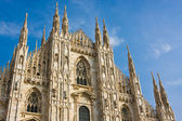 Milan cathedral dome — Foto Stock
