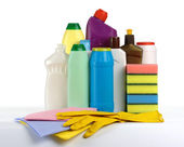 Kitchen cleaning kit — Stock Photo