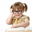 Cute child with book — Stock Photo #3098390