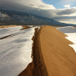 Great Sand Dunes National Park, CO, USA — Stock Photo