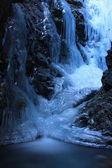 Wodospad ukryty — Zdjęcie stockowe