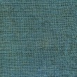 Blue dyed jute canvas texture — 图库照片