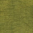 Olive green jute canvas texture — Stock Photo