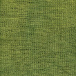 Green jute canvas texture — Stock Photo