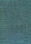 Blue dyed jute canvas texture — Stock Photo