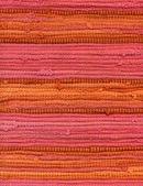 Detail of striped rug — Stock fotografie