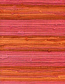 Detail of striped rug — Stock Photo